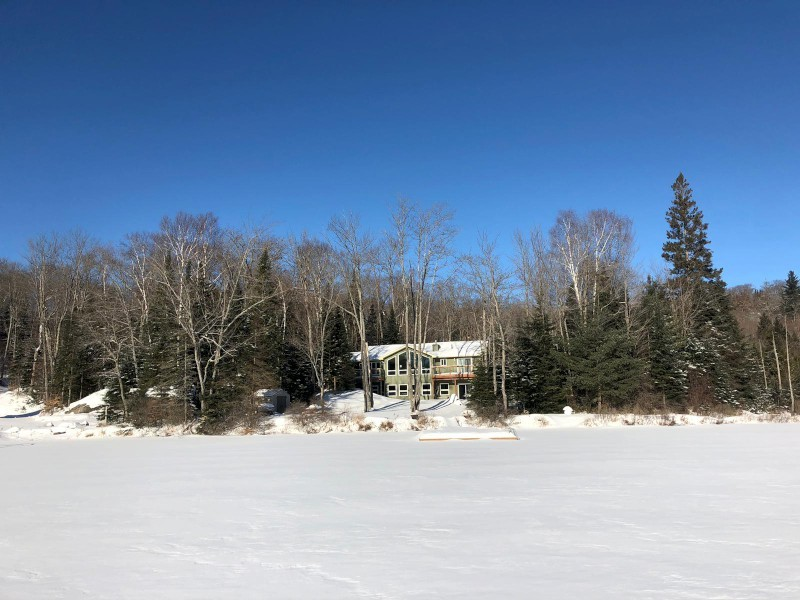 Lakeview of Cottage in Winter