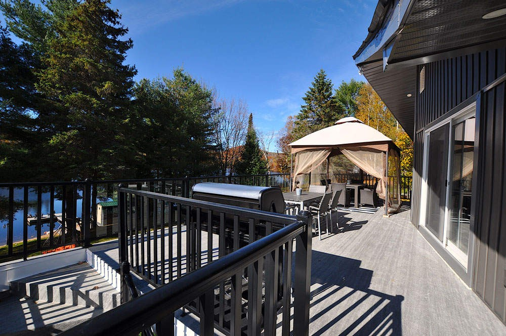 Deck with Dining Area & Gazebo