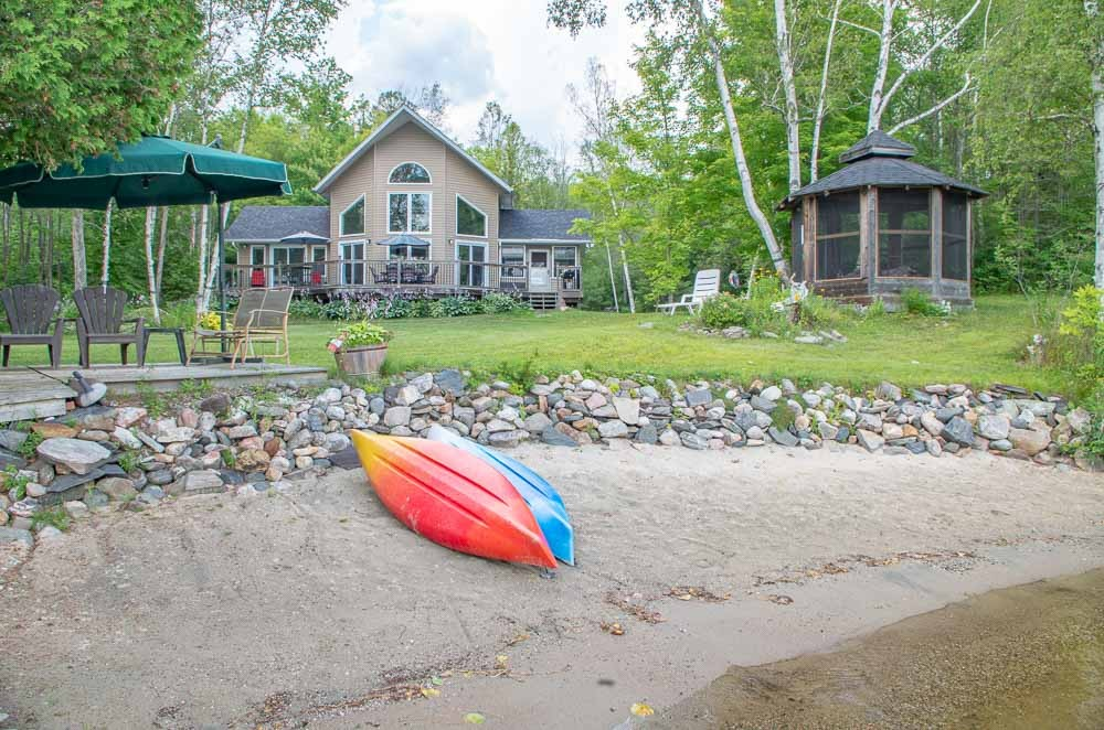Sandy Waterfront with Shallow Entry