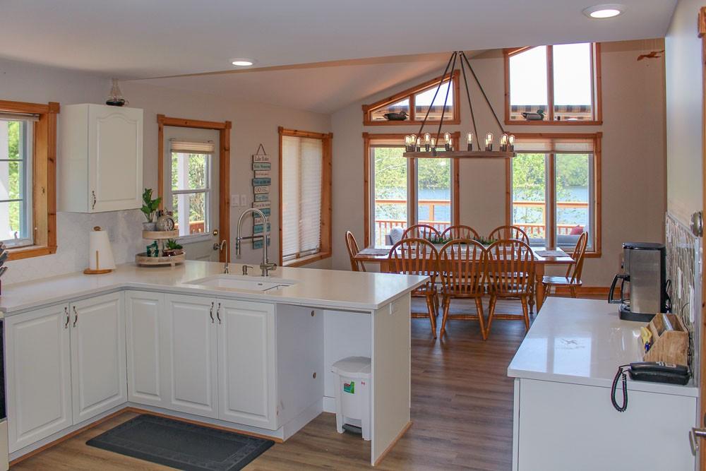 Kitchen & Dinig Areas