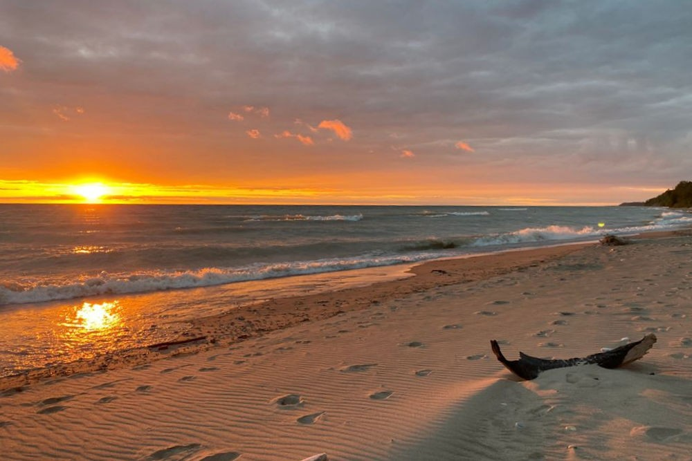 Sunset Magic on the Beach