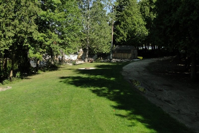 Path to Walking Trails and Waterfront