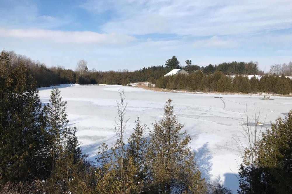 Winter View from the Trails