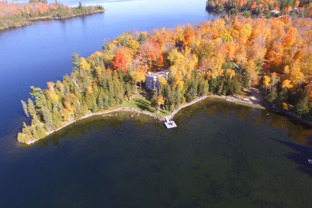 Autumnal Aerial View