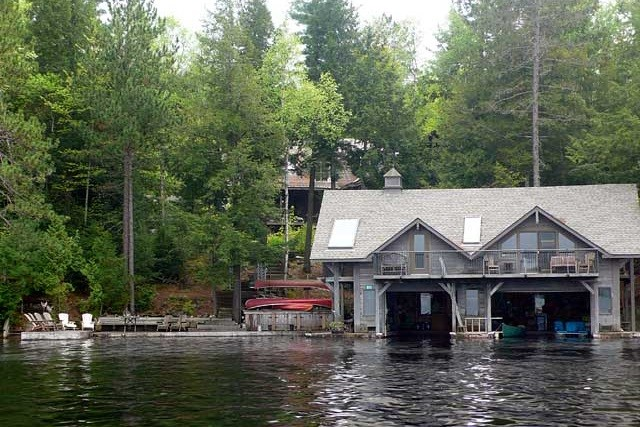 Boat House Exterior