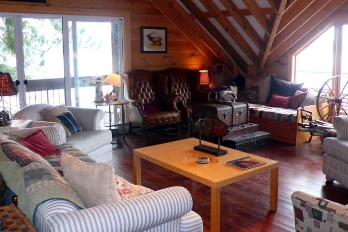 Boat House Living Area