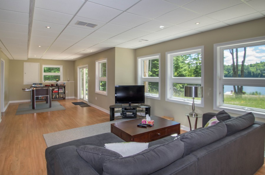 Family Room and Games Area