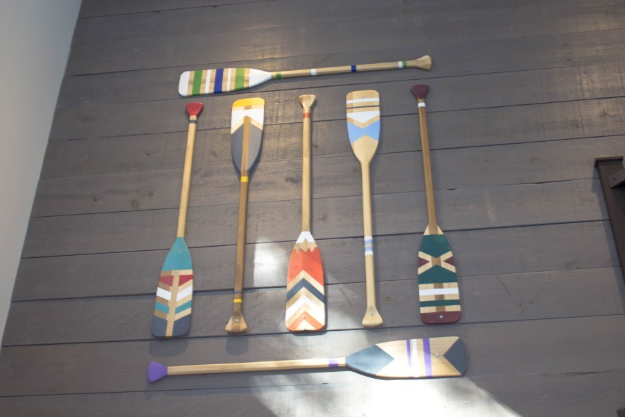 Painted Paddles