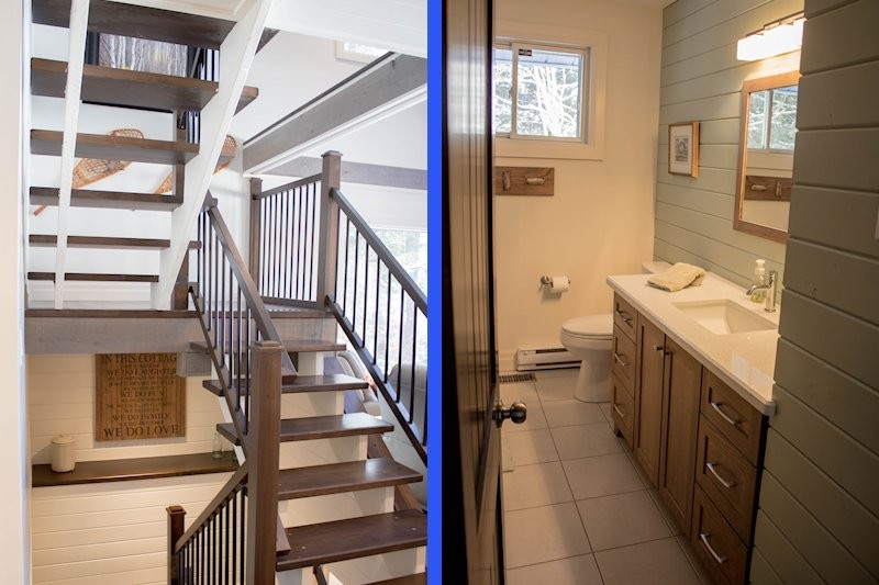 Staircase & Second Bathroom