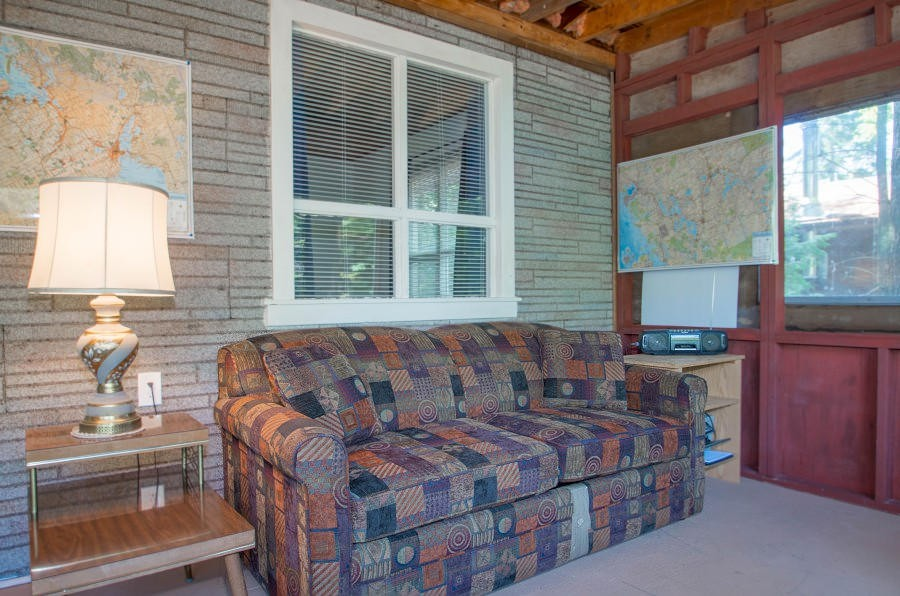 Comfortable Corner of Screened Porch