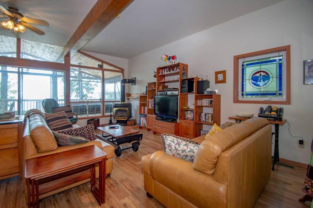 Living Room (wood floors added in 2020)