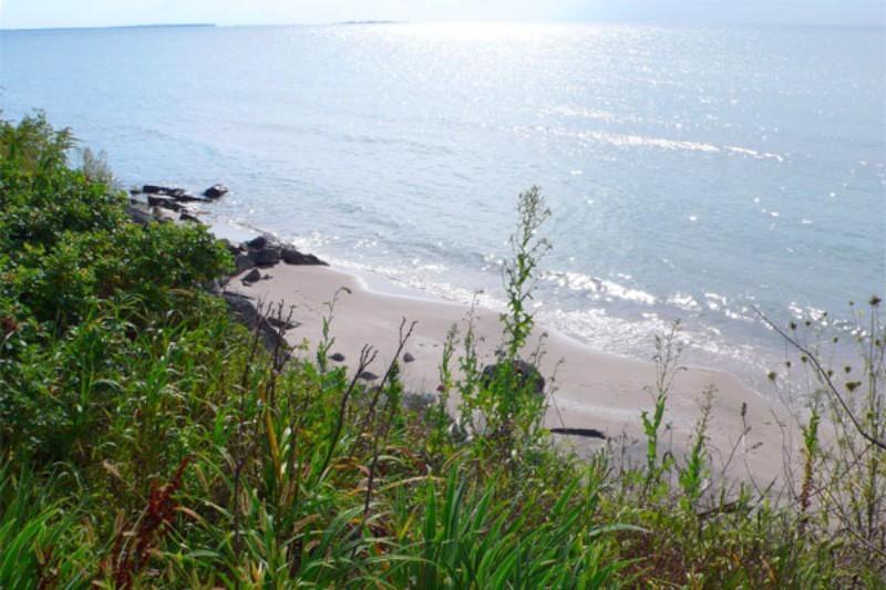 August Sandy Beach