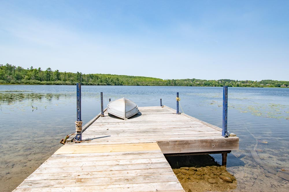 Dock with Shallow Entry