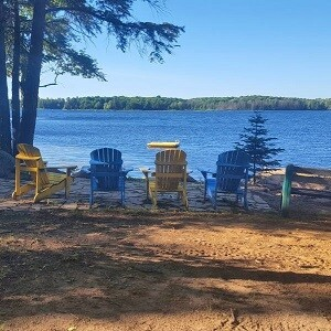 The week of July 3-10 just opened up at Stay & Play Cottage! Book Today!