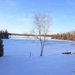 It's still Feature Friday! Check out the Ice Rink at Pine Lake Retreat!