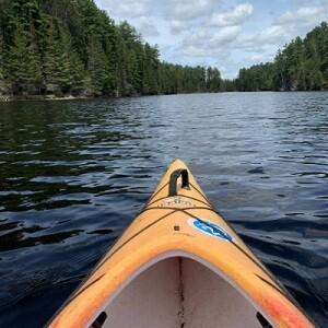 Kayaking at Serenity Cove