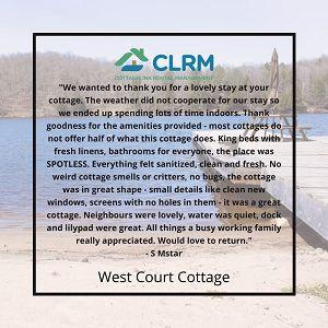 Testimonial: West Court Cottage
