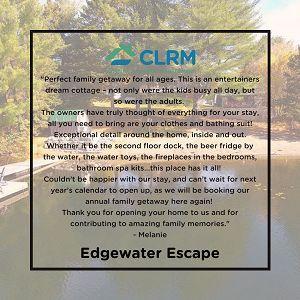 Testimonial: Edgewater Escape