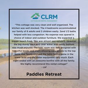 Testimonial: Paddles Retreat