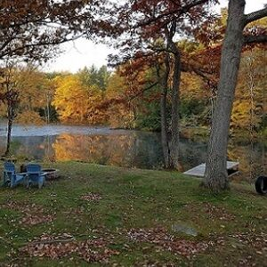Osprey Cottage is available for getaways this fall!